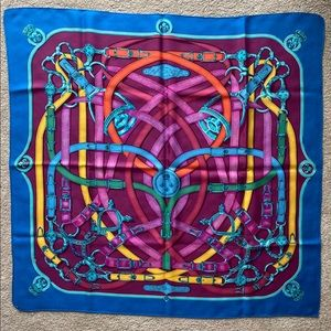 Hermès silk scarf 🧞♂️